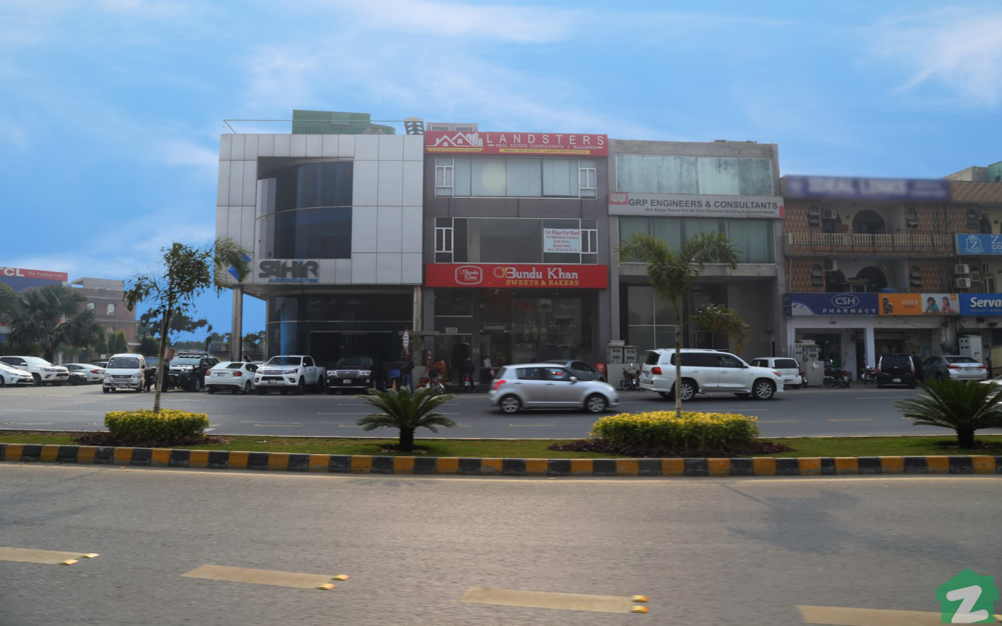 one of the market blocks in dha