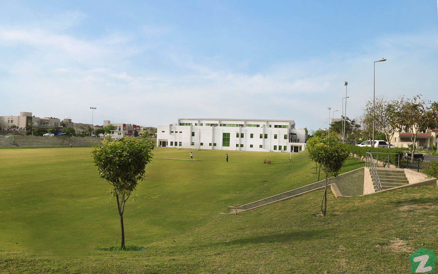 lush green parks in DHA Lahore are easily accessible to the residents
