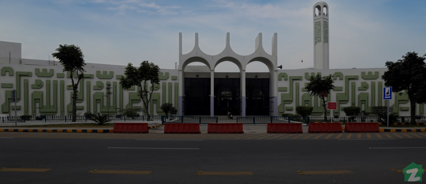 Famous mosque of DHA Lahore