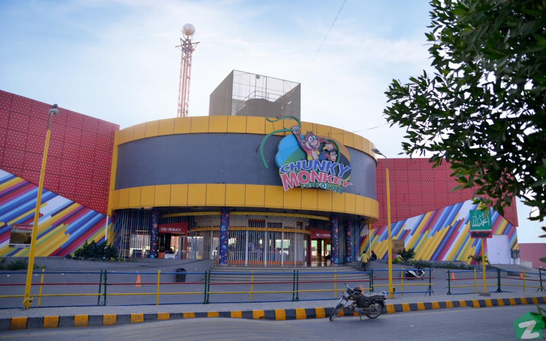 chunky monkey amusement park in karachi