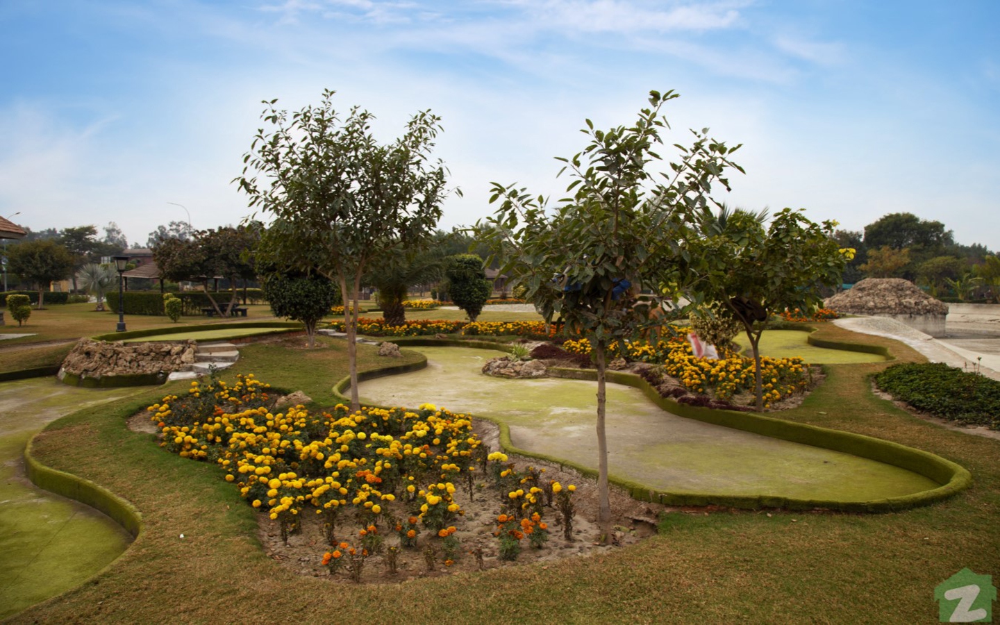 Park in lake city lahore