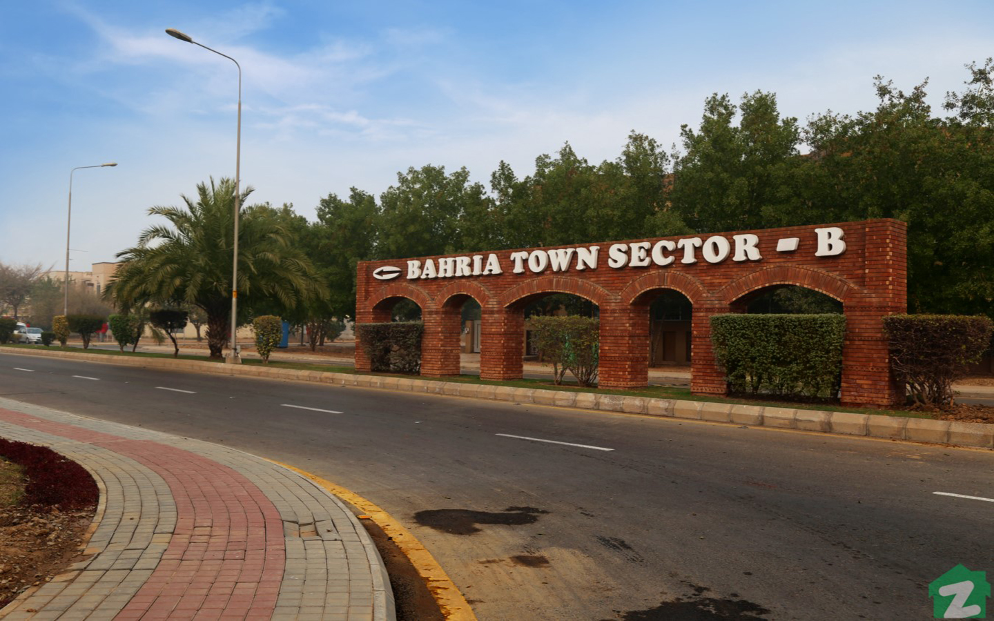 sector b bahria town lahore