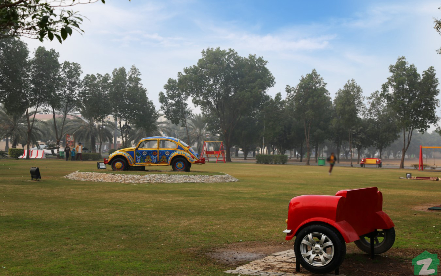 park in bahria town lahore
