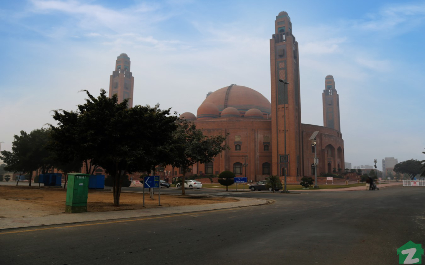Mosque in Bahria Town