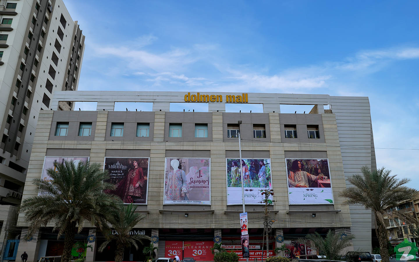 Dolmen is one of the famous malls in North Nazimabad Karachi