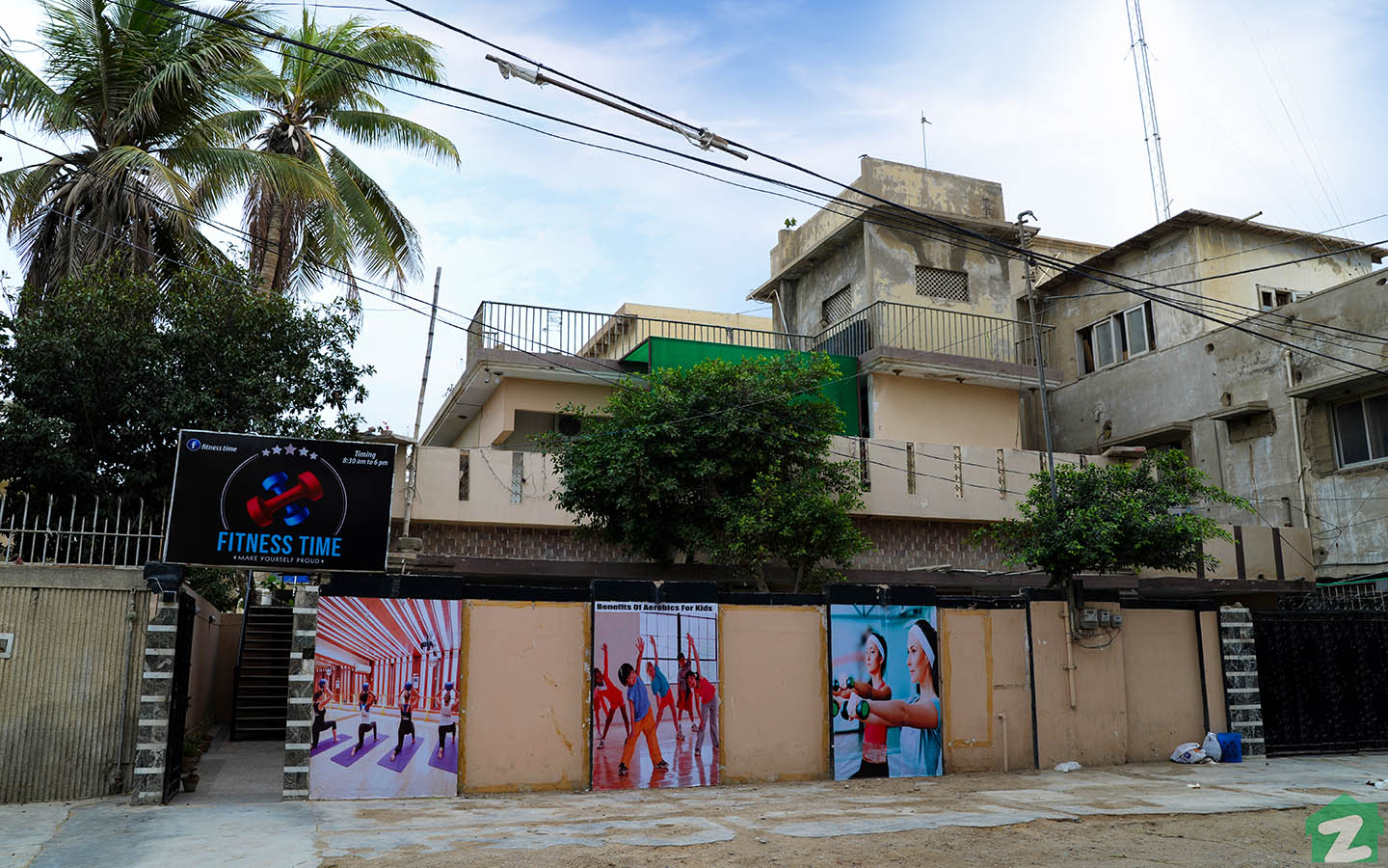 fitness centre in North Nazimabad