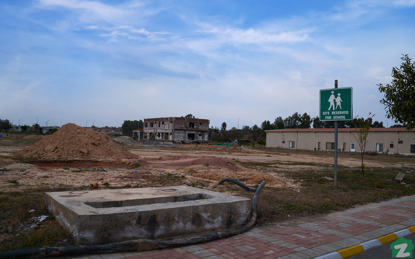 Plot Reserved for School in Top City Islamabad