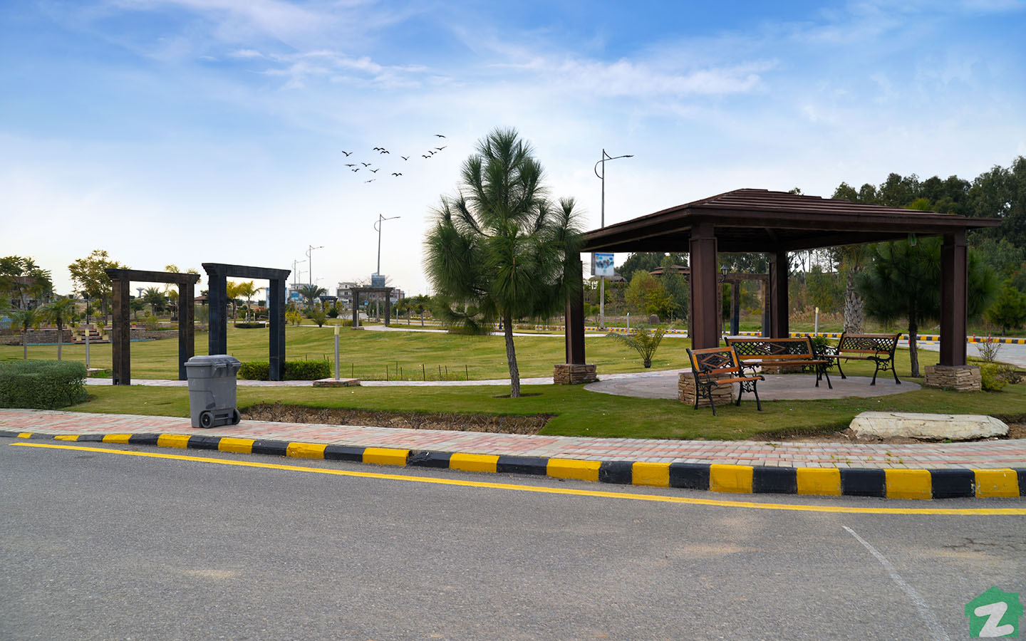 Parks in Top City 1 Islamabad