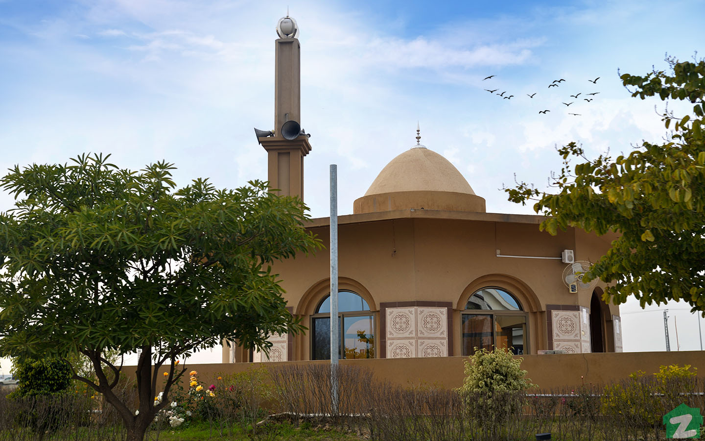 Mosque in Top City 1 Islamabad