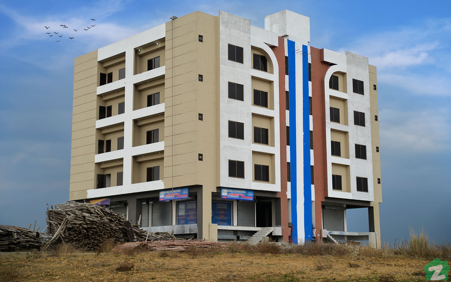 commercial building in University town islamabad