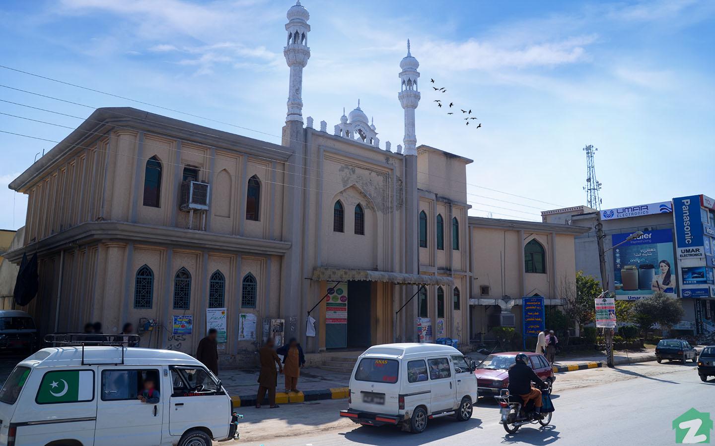 Mosque in PWD Housing Scheme