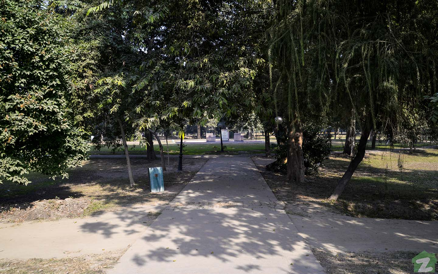 One of the community parks in the neighbourhood.