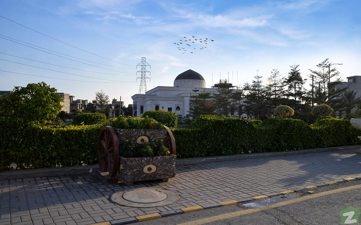 park for outdoor activities in Al Jalil Garden Lahore