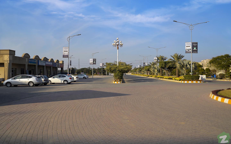 Inner View of Dream Gardens Lahore