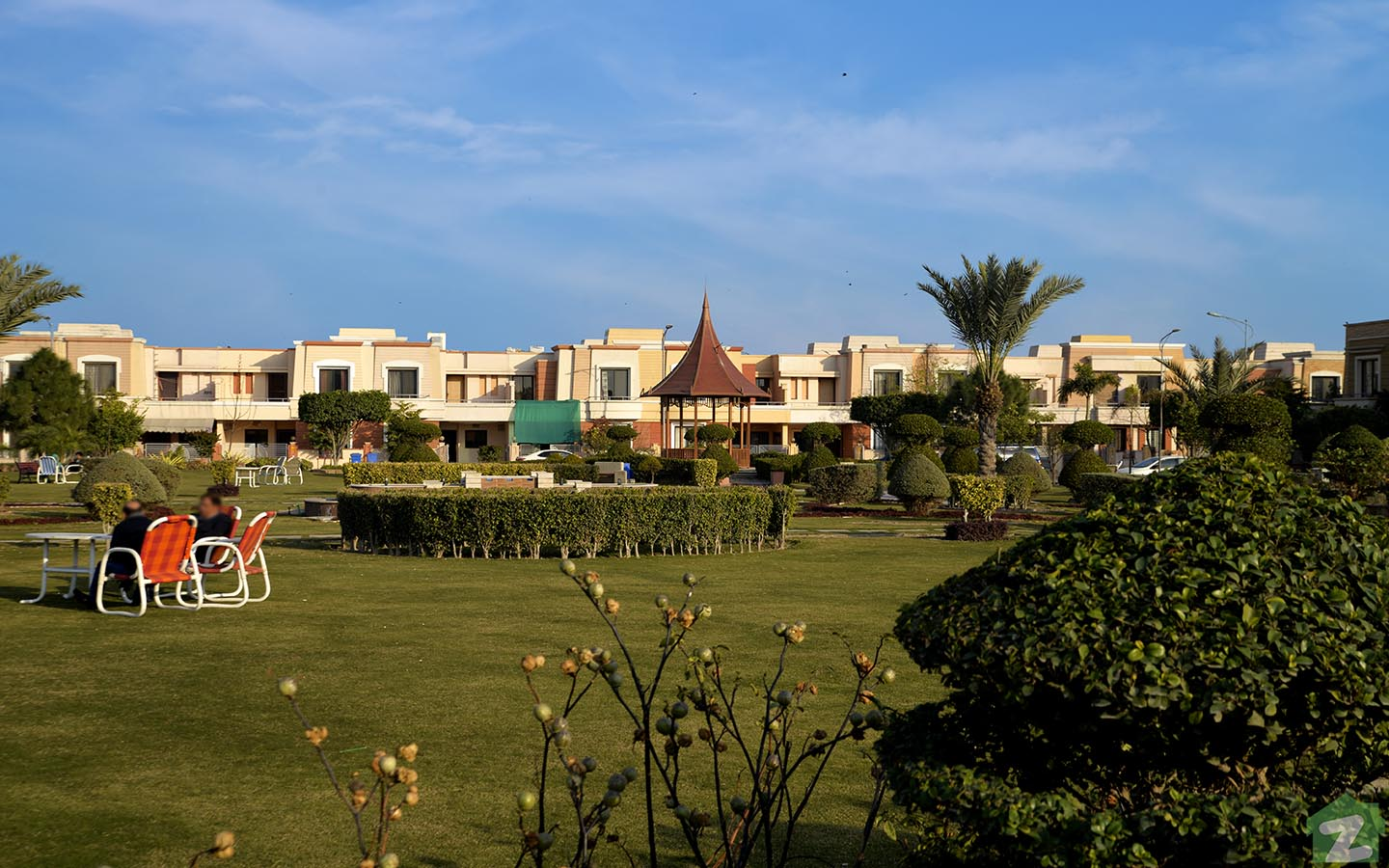 Parks in Dream Gardens Lahore