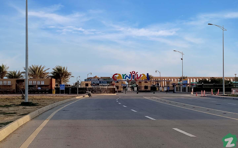 Carnival park in Bahria Town Karachi