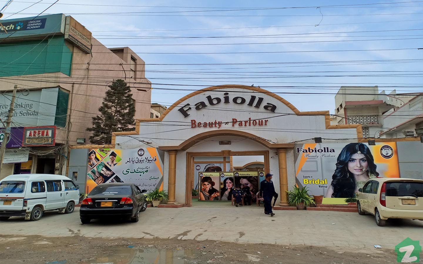 beauty parlor in North Nazimabad