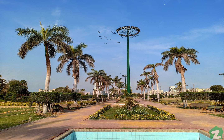 Aziz Bhatti park in Gulshan-e-Iqbal Karachi