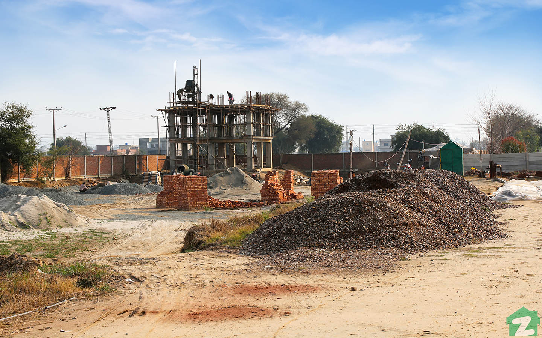 Al Kabir Town development work