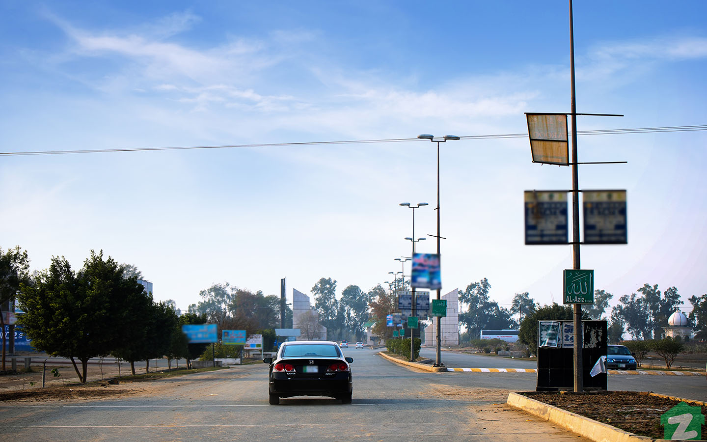 Main Boulevard of NFC Phase 2 Lahore is fully developed