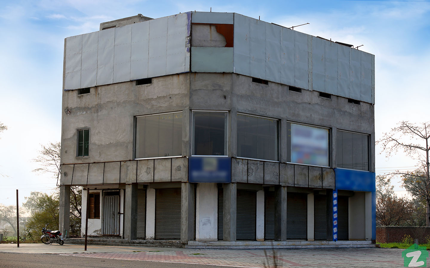 Development for structures of mall buildings in Phase 2, NFC are in process