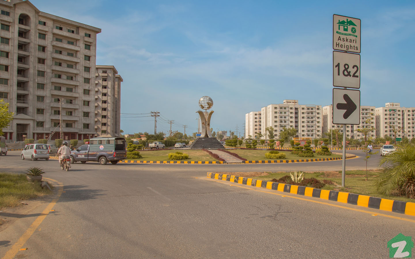 small and big size families can also rent a flat in Askari Heights Lahore