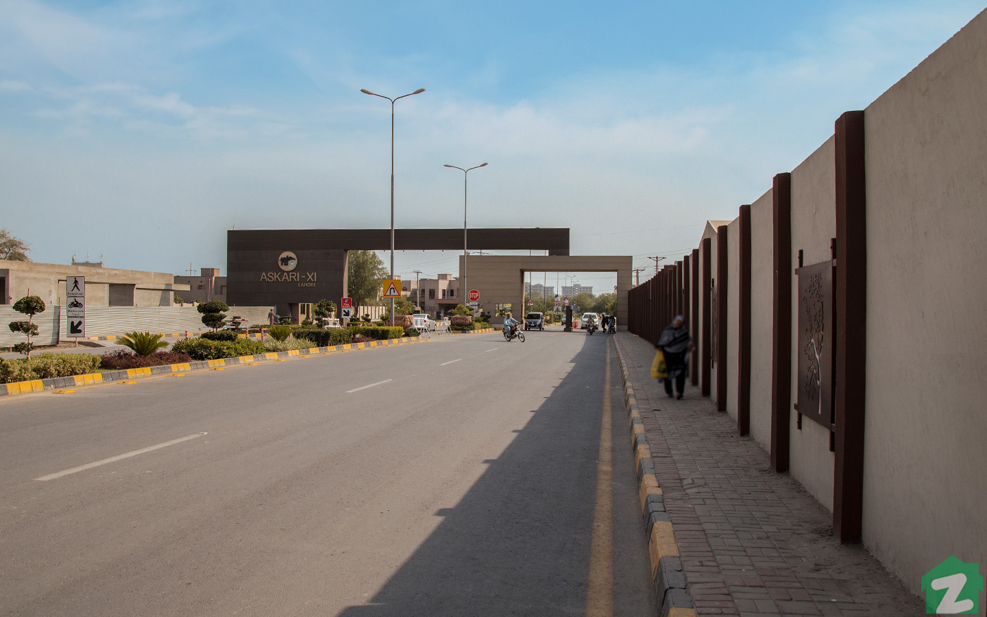 Askari 11 Lahore is a gated community which offers 24/7 security to its residents.