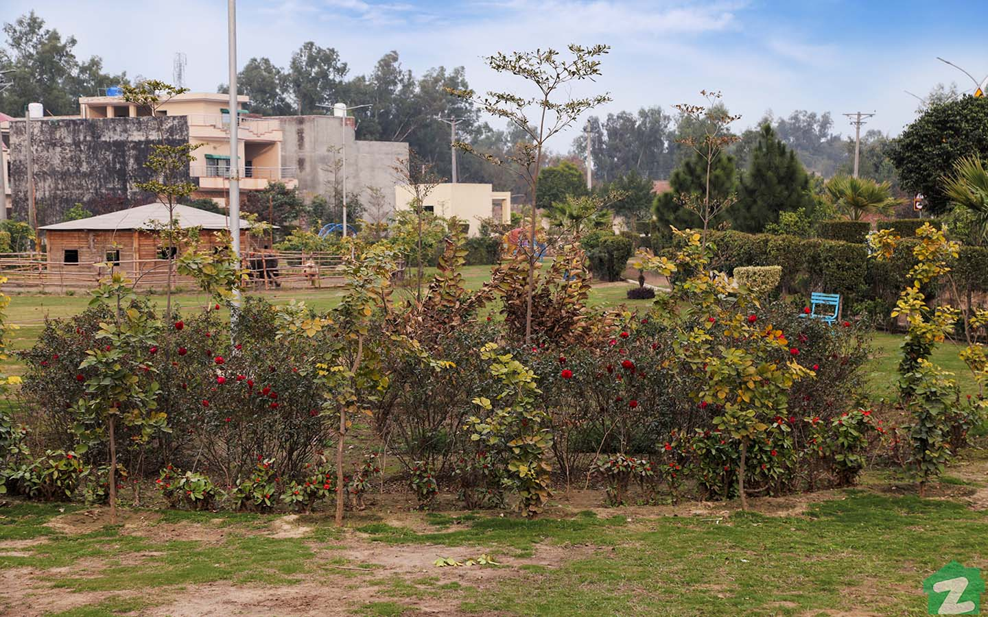 parks in SA Gardens Lahore
