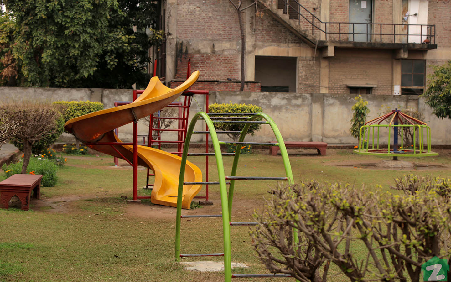 Parks in Wpada Town Lahore