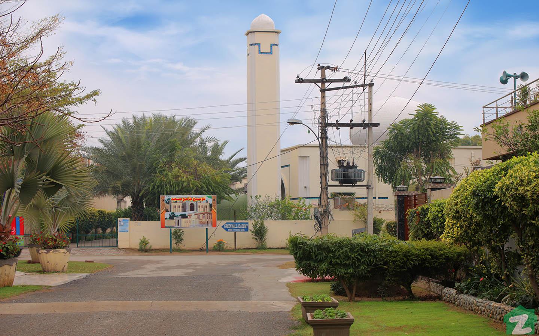 Mosque in Wapda Town Lahore