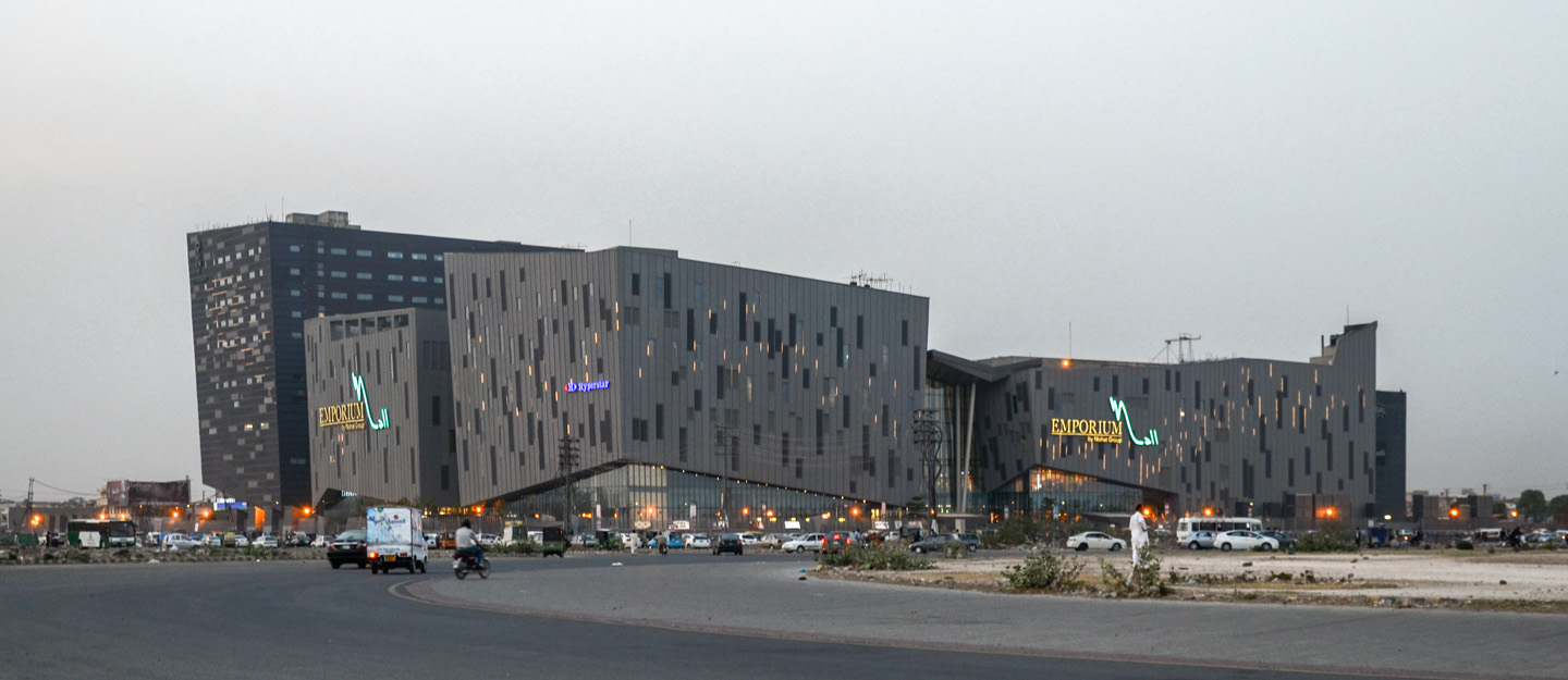Emporium Shopping Mall near Phase 2, Sui Gas Housing Society