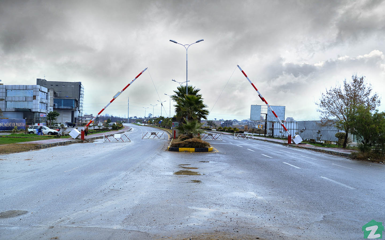Wide roads of FGEHF Islamabad