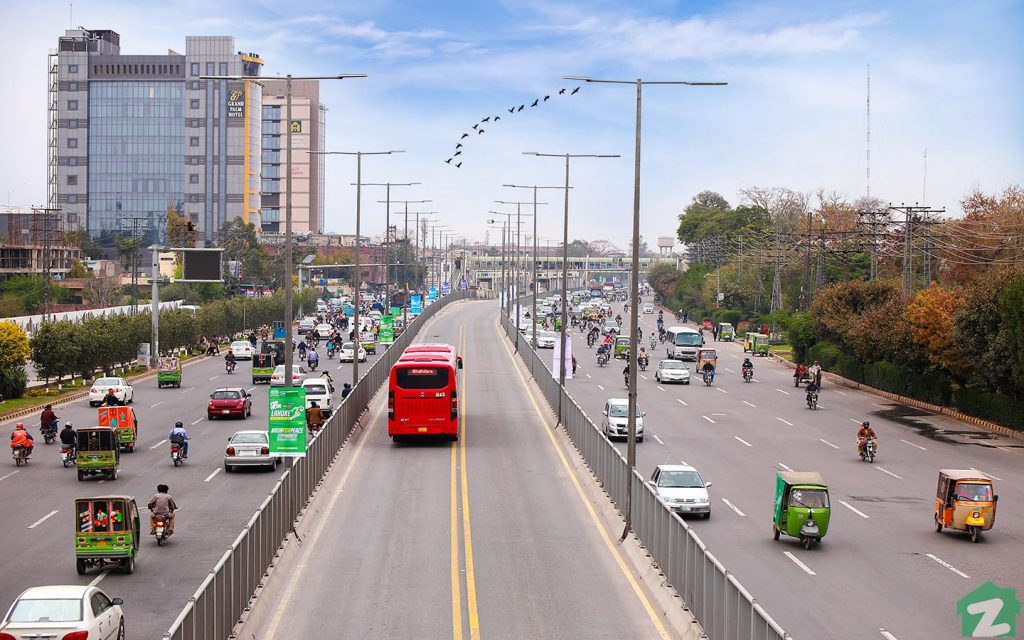 Residents of Model Town can also commute from metro buses
