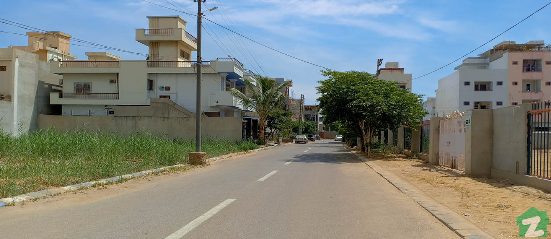Street Views for residential units in Scheme 33 Karachi