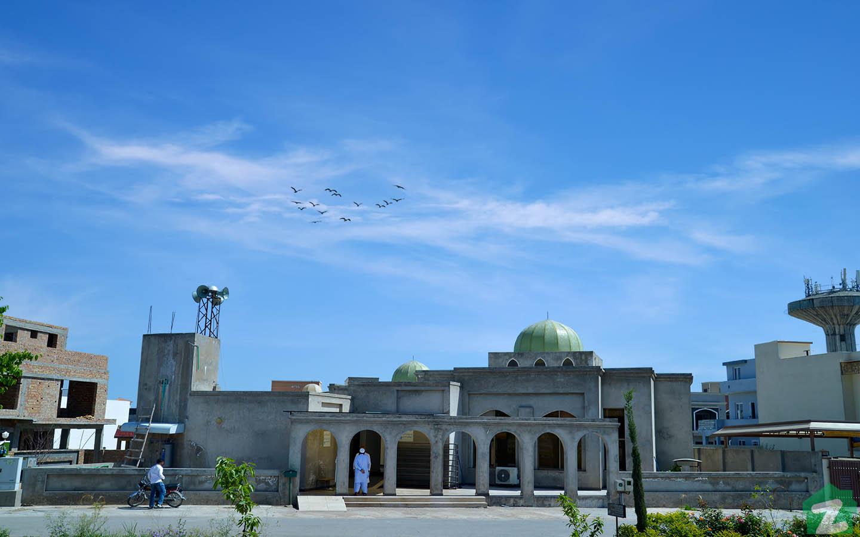 Block D Mosque Media Town