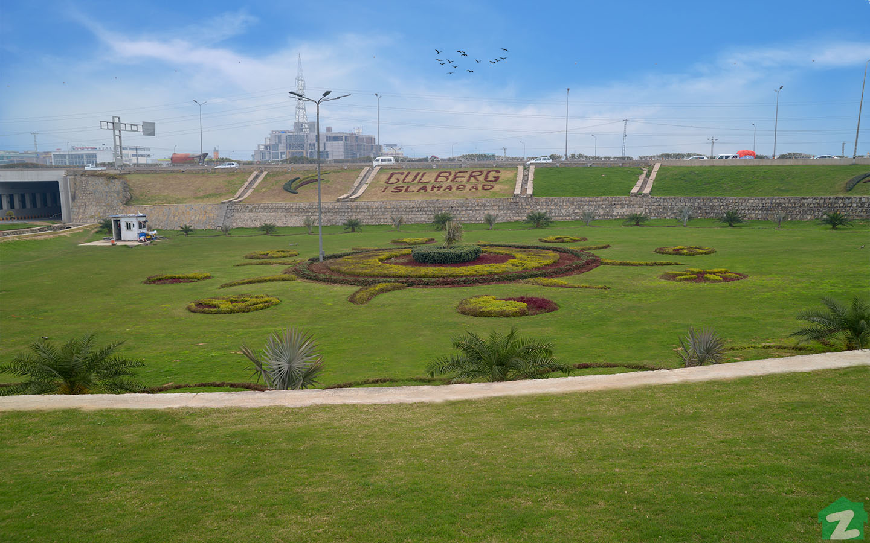 greenery near Gulberg Expressway