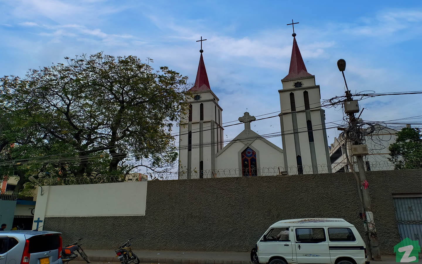church - a place of worship for the Christian community in Clifton