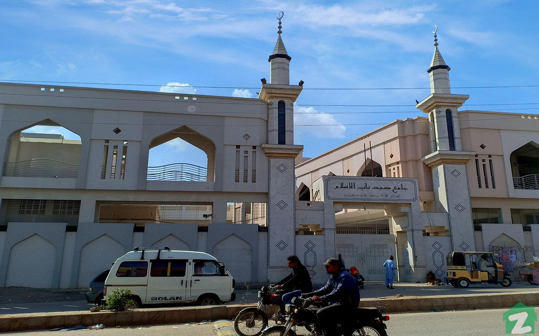 mosque in north karachi