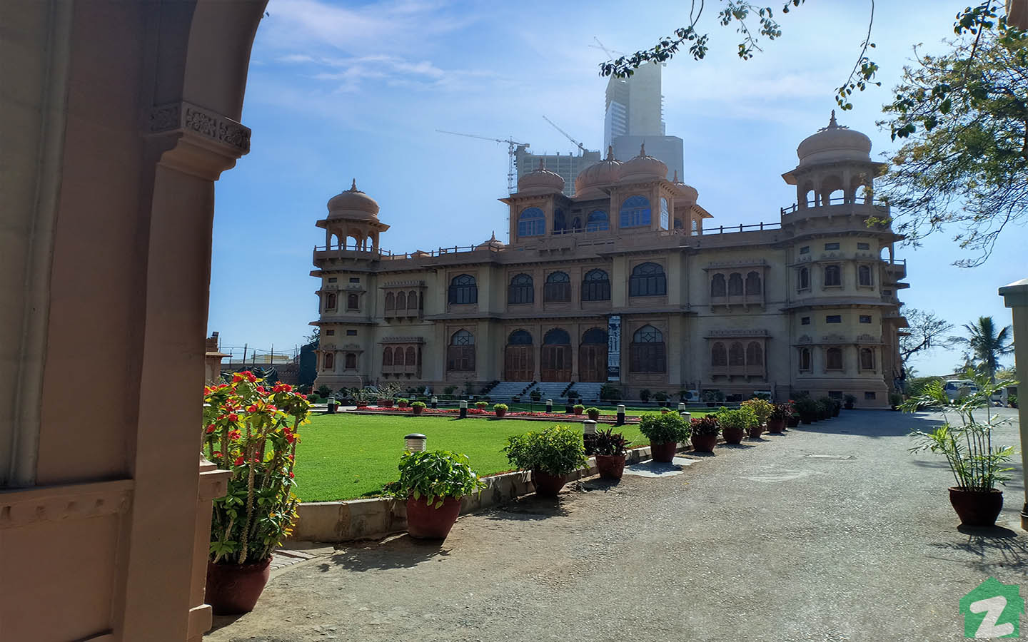 Mohatta Palace features several galleries.
