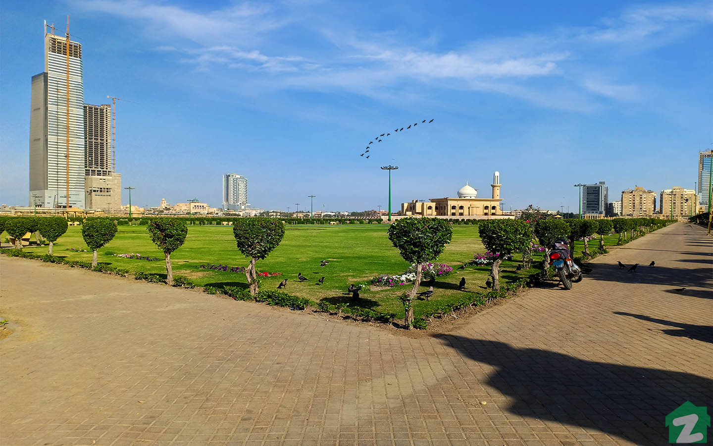one of the most beautiful parks in Clifton Karachi