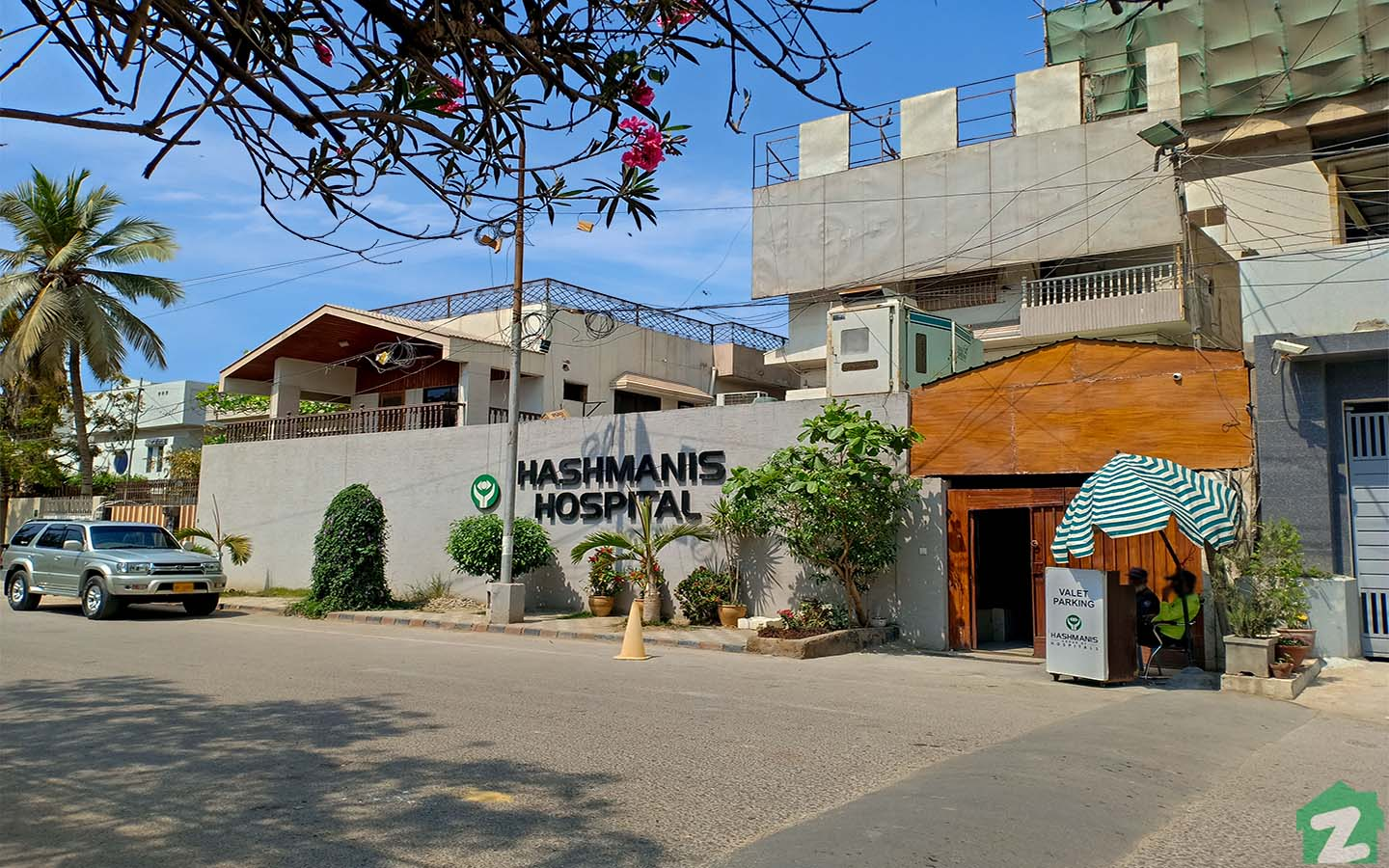Hashmani's Hospital is popular for eye care.