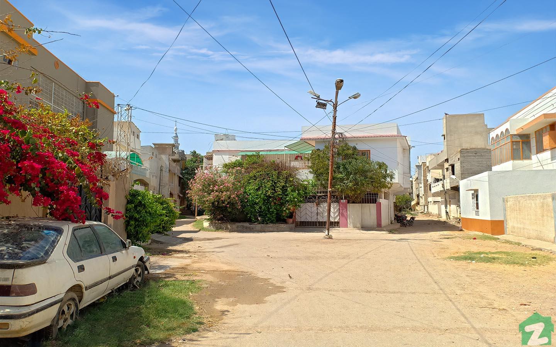 Residential units in Malir Town Karachi