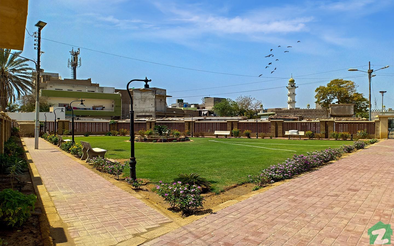 Aqsa park in Malir Town Karachi