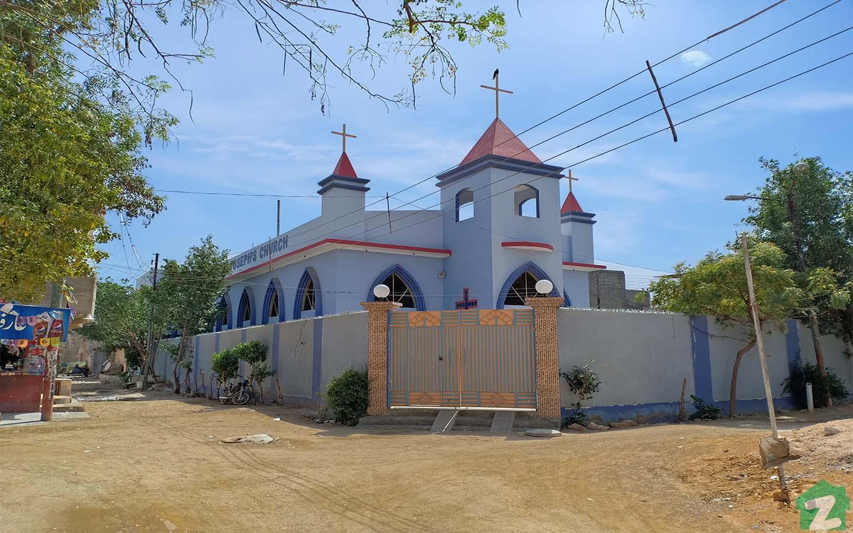 Renowned church in Malir Town