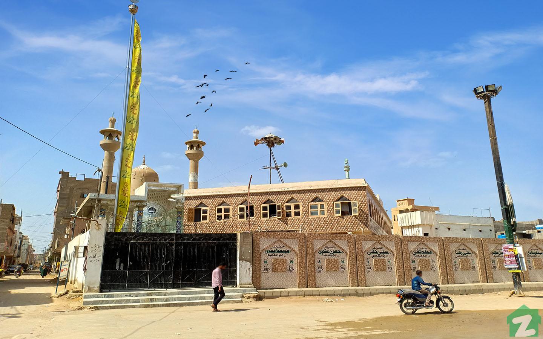 Markazi masjid in Jafar-e-Tayyar Malir Town Karachi