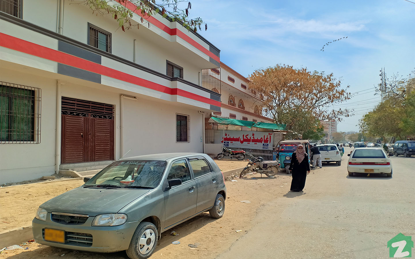 Popular medical care facility Agha medical centre in Gadap Town