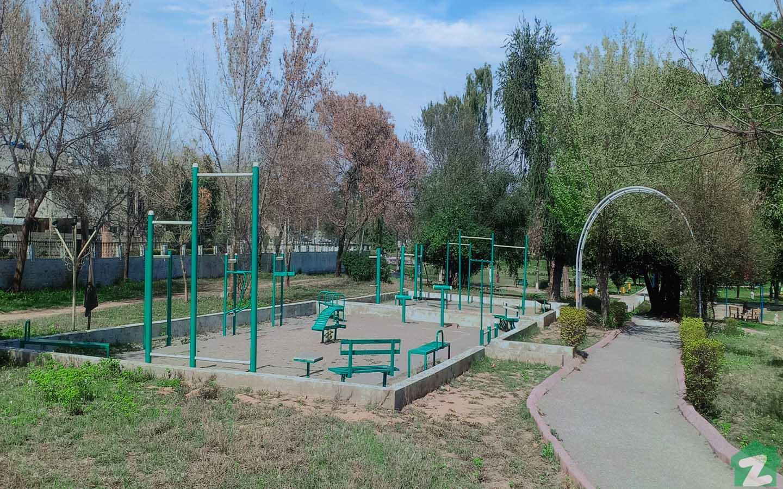 Park near Chakri Road
