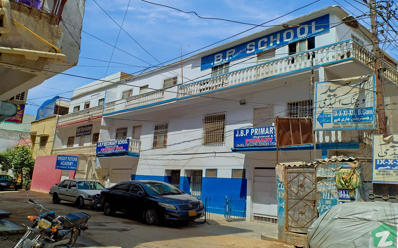 A prominent school - JBP school in Scheme 33