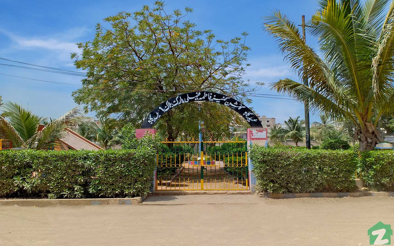 Much-needed green space in Gulshan-e-Kaneez Fatima Society in Scheme 33
