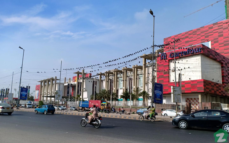 Shopping Malls in Karachi.